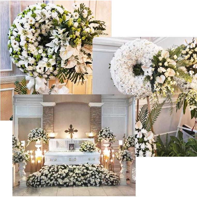 Funeral Flower Arrangement in Davao