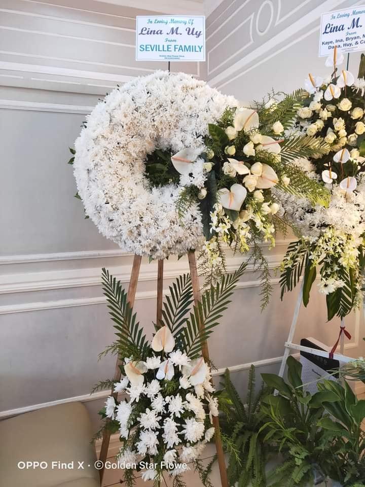 Wreath Flowers Arrangement Davao